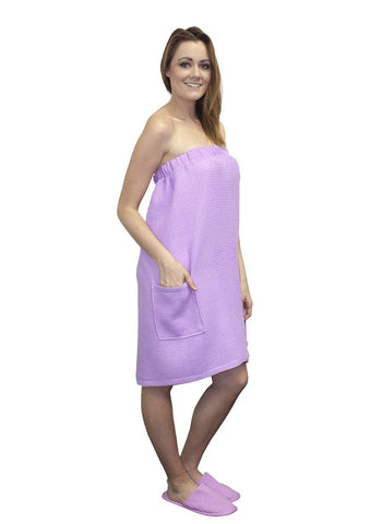 Spa Body Wrap Towel Lilac
