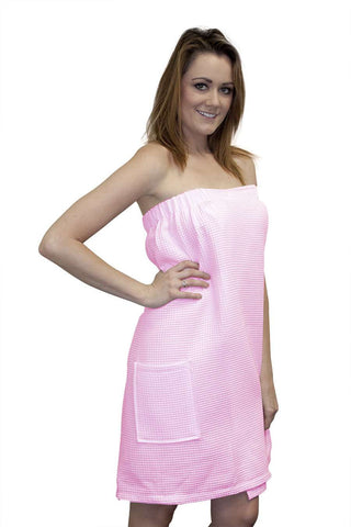 Spa Body Wrap Towel Pink