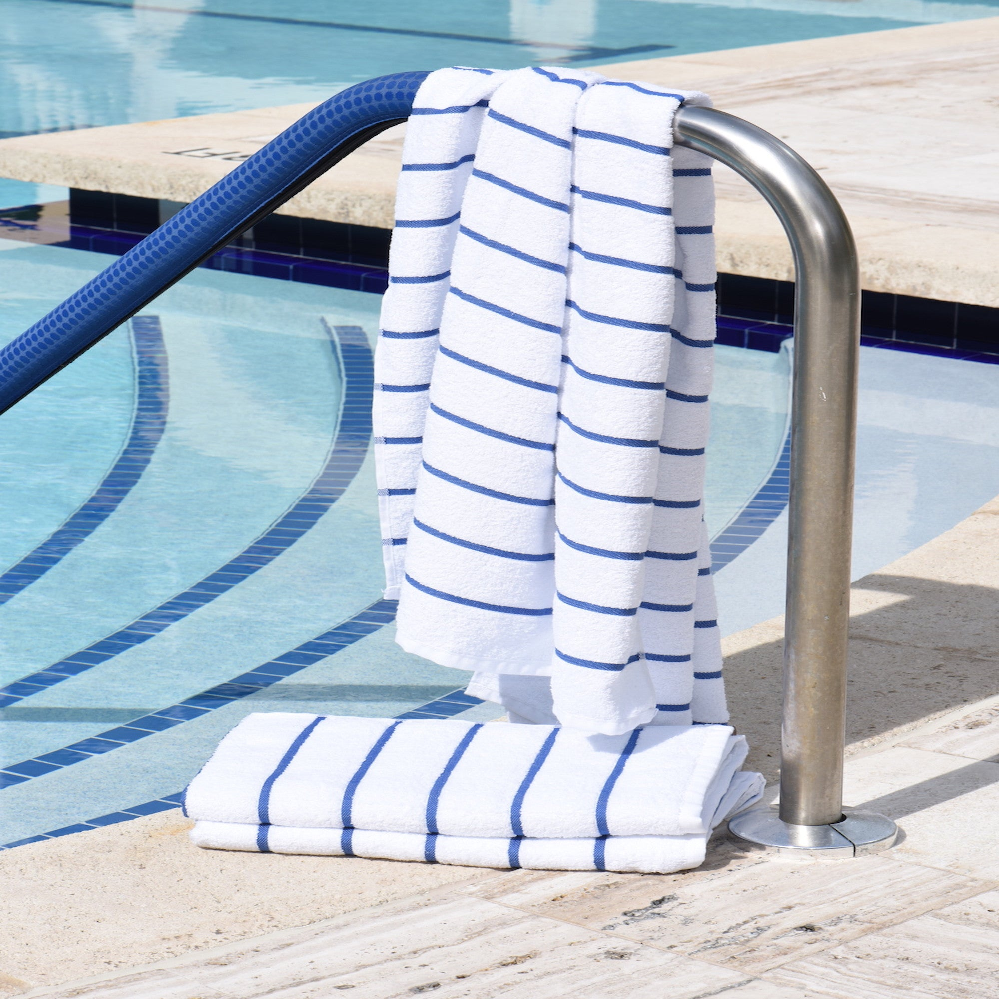 Sailor Stripe Pool Towel | The Factory | The Best Sheets & Towels In the world