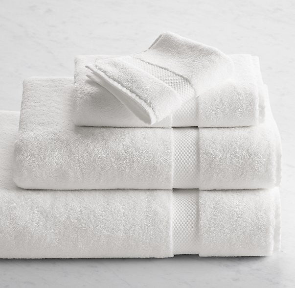 Genoa Washcloths (Set of 2) | The Factory | The Best Sheets & Towels In the world