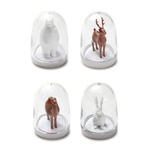 4 PC Set Animal Spice Shakers