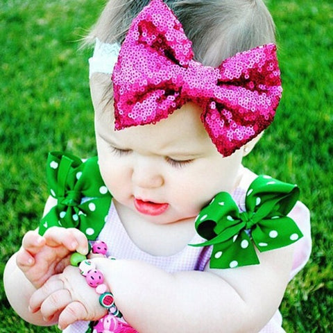 Baby Lace Bow