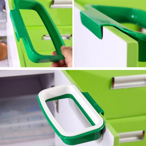 Cabinet Trash Bag Holder
