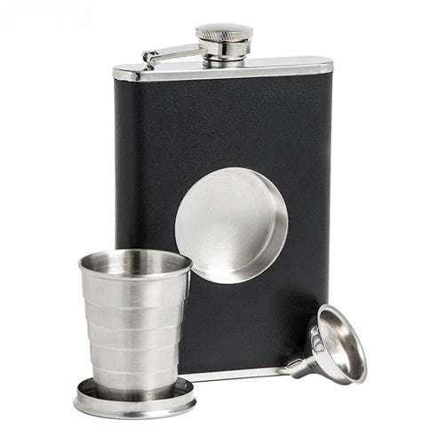 Flask With Secret Shot Glass