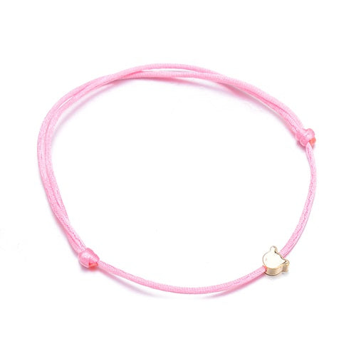 Golden Cat String Bracelet
