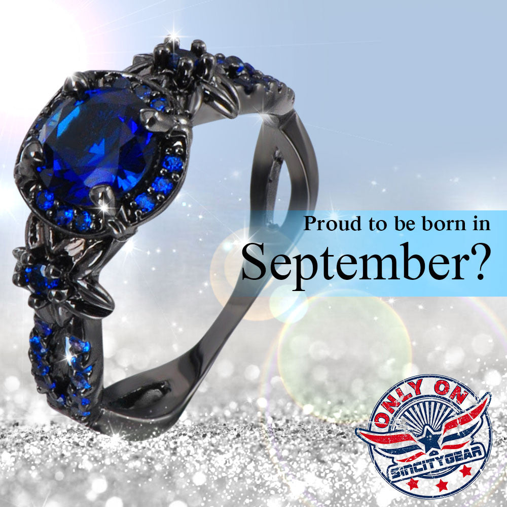 Limited Edition Sapphire (September) Birthstone Ring