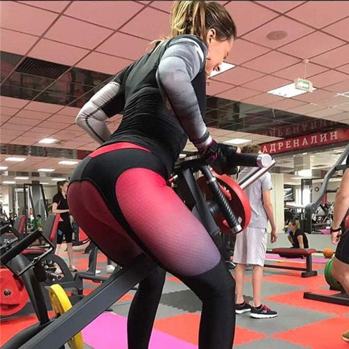 Patchwork Fitness Leggings