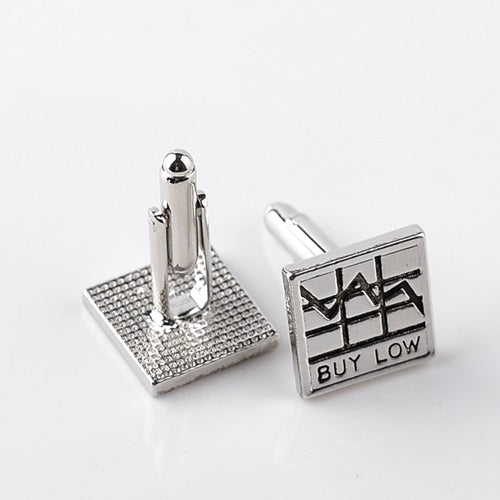 Stock Market Cuff Links