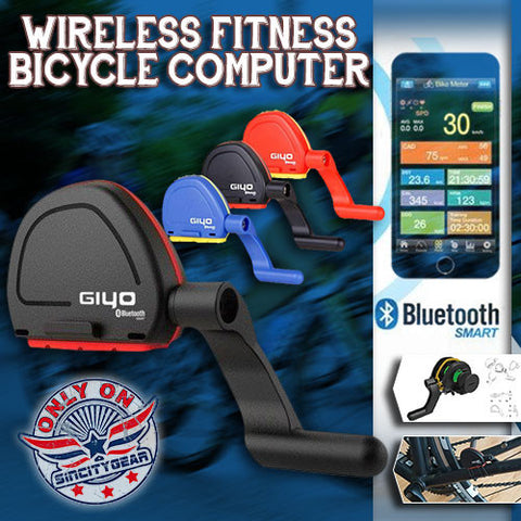 Wireless Fitness Bicycle Computer