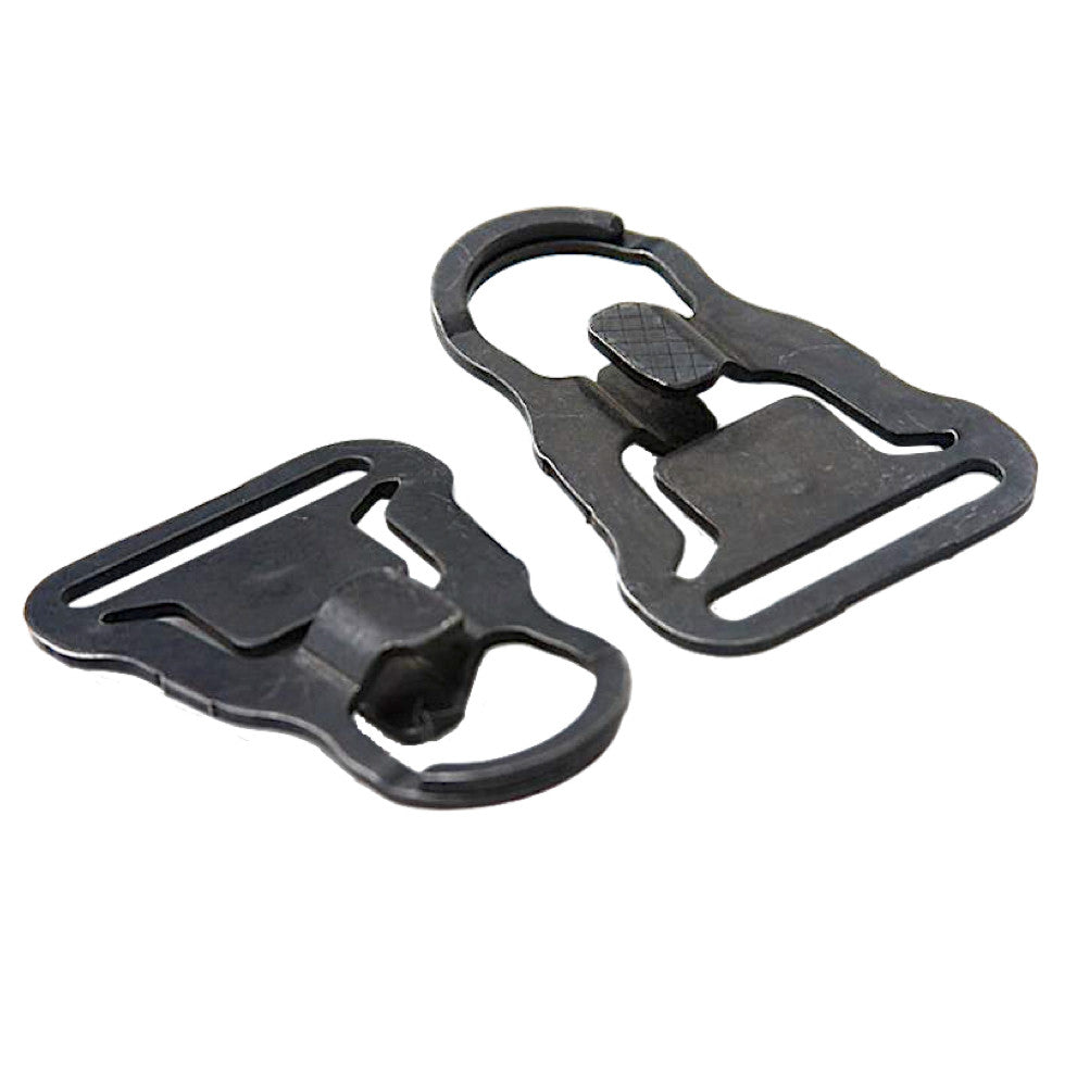 STI MASH Hook Sling Swivel Set for 1.25 inch Webbing - Package of Two (2)