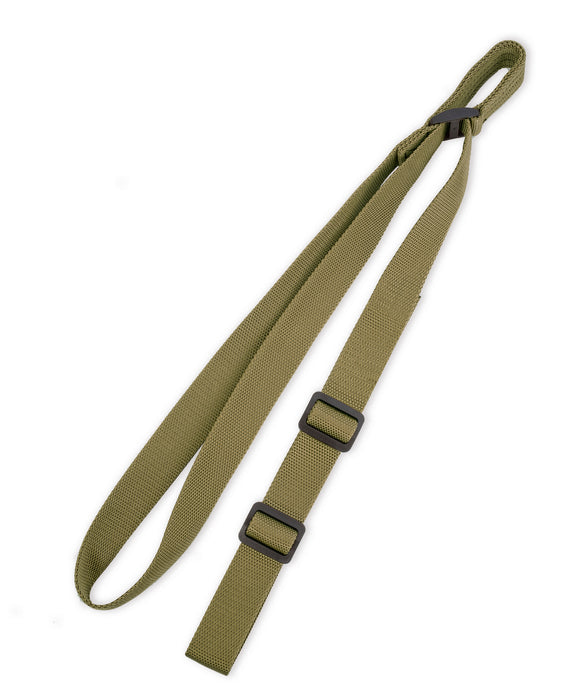 STI Rifle Sling - 2 Point Sling for Rifles and Shotguns with Fast Adjust Thump Loop - GI/HUNTER GREEN