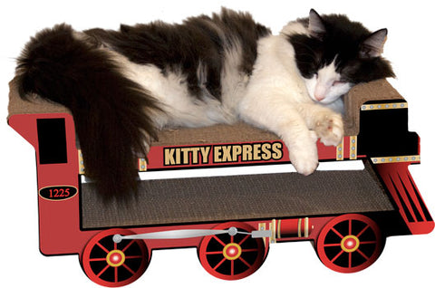 Kitty Express Train Scratcher/Lounger - 25% OFF! - LOW STOCK!