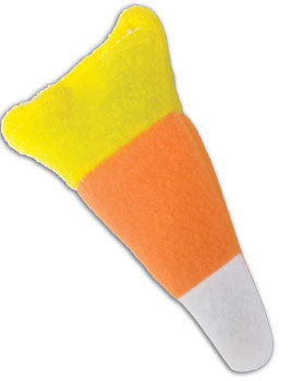 """Cat'n Around"" Candy Corn Catnip Toy - purr-fect for your Meow-lo-ween Cats!"