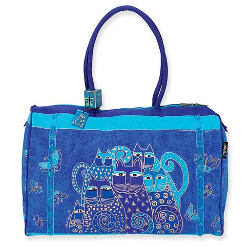 Laurel Burch™ Indigo Cats Travel Bag