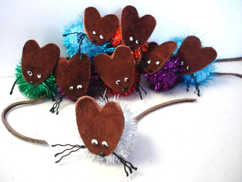 Boca Tinsel Mouse