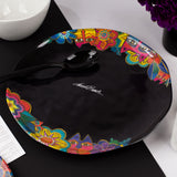 Laurel's Garden Round Melamine Serving Platter - NEW!!!