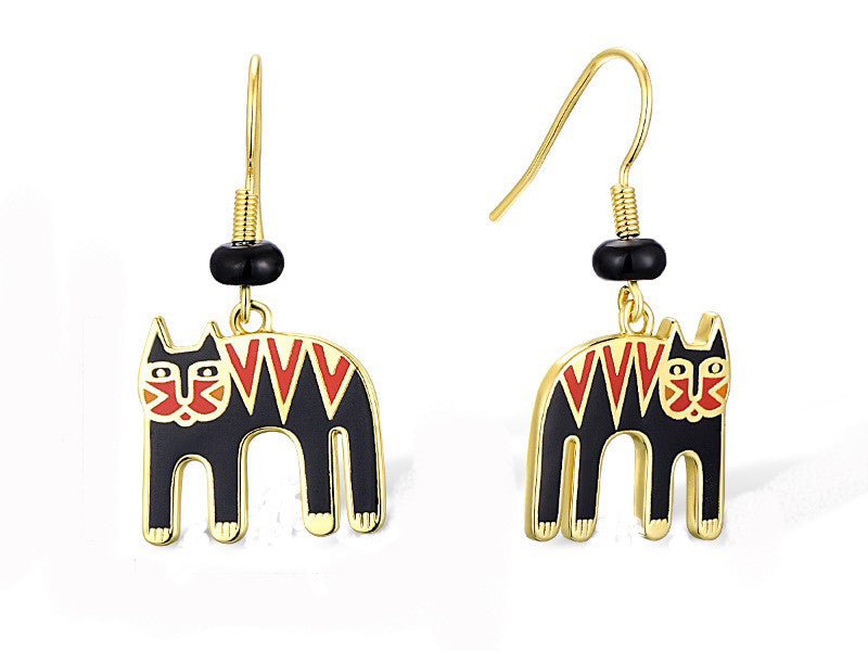 Laurel Burch™ Magicat Drop Earrings - NEW!!!