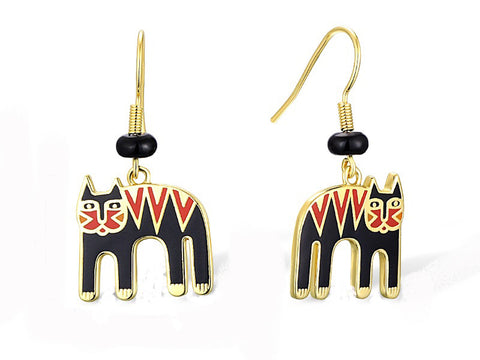 Laurel Burch™ Magicat Drop Earrings