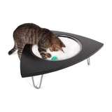 Tripod Cat Lounger - Black Lacquered Finish
