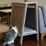 A-Frame Cat Bed and End Table - Smoke - NEW!!!
