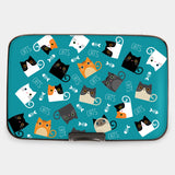 Cats with Fishies Armored Wallet