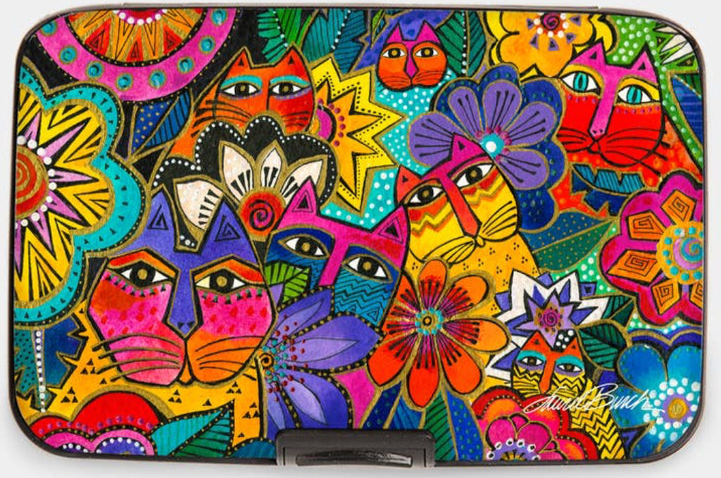 Laurel Burch™ Garden Cats Armored Wallet - NEW!!!