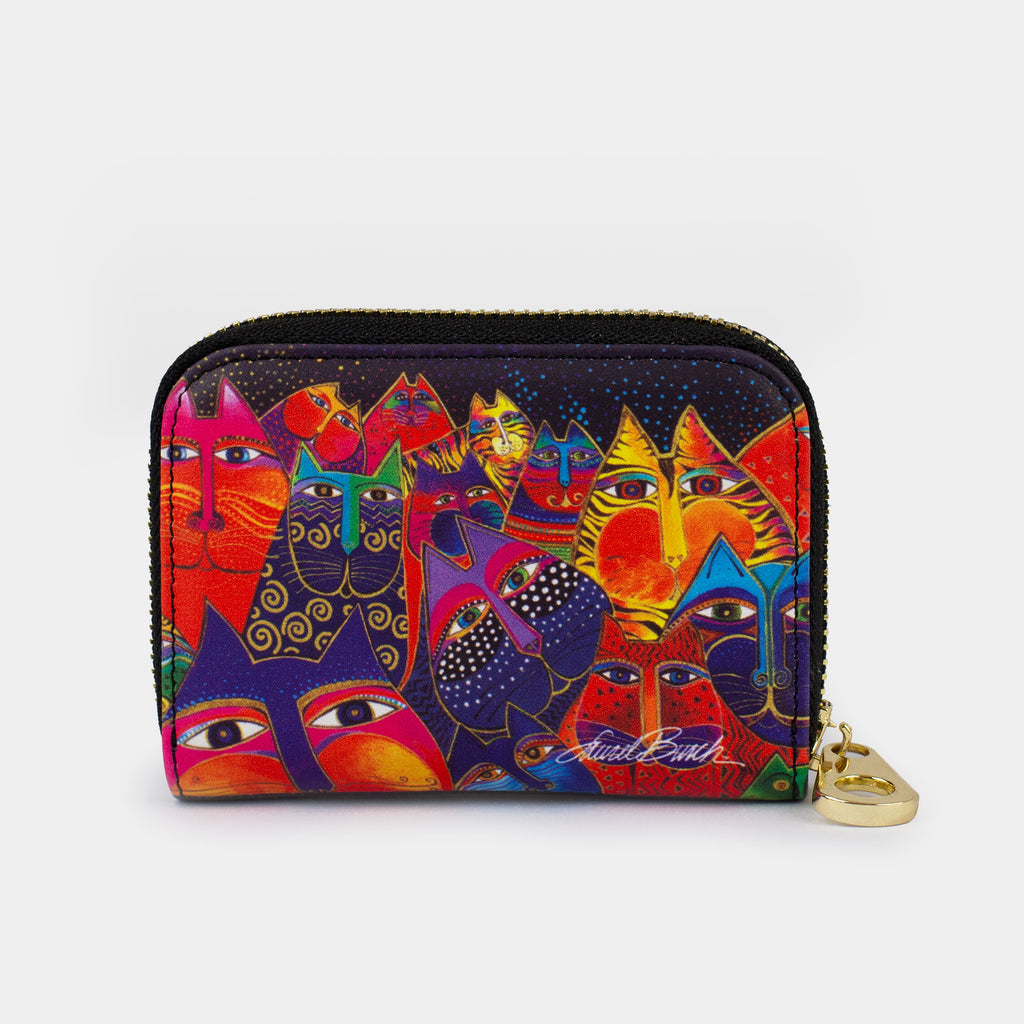 Laurel Burch™ Fantasticats Armored Zippered Wallet