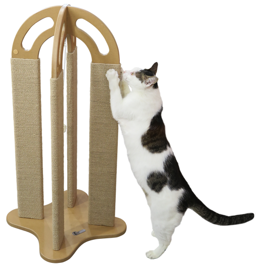 Arched Multi-Surface Scratching Post - FREE SHIPPING!!