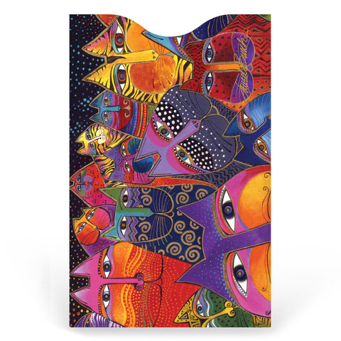 Laurel Burch™ Fantasticats Credit Card Sleeve