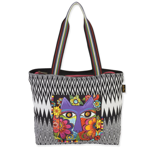 Laurel Burch™ Blossoming Feline Shoulder Tote - NEW!!!