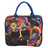 Laurel Burch™ Carlotta's Cat Large Cosmetic Tote - NEW!!!