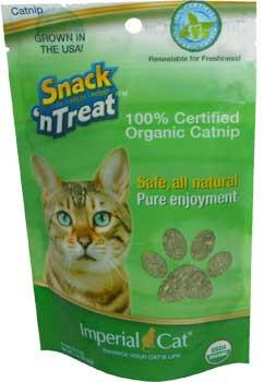 Fresh 1 oz. Snack 'N Treat Catnip Pouch - Harvested and packaged in the U.S.A.