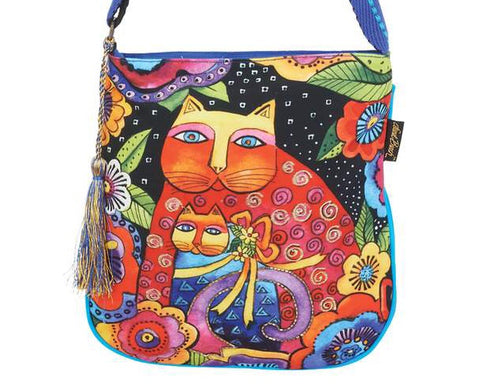 Laurel Burch mother daughter crossbody