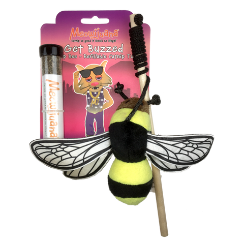 Get Buzzed Refillable Bee Wand Toy - NEW!!!