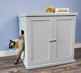 Wooden Litter Catches for the Refined Feline Regular and XL Litter Boxes