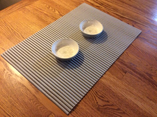 Padded Cat Dining Mat - Two Colors! - NEW!!!