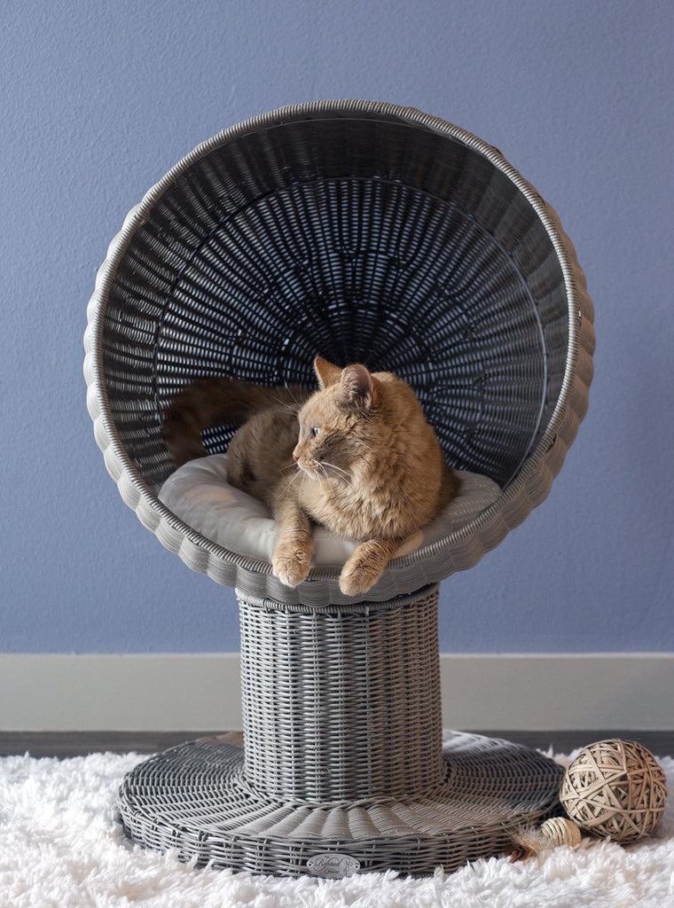Refined Feline Kitty Ball Bed™ - NEW LOWER PRICE!!!