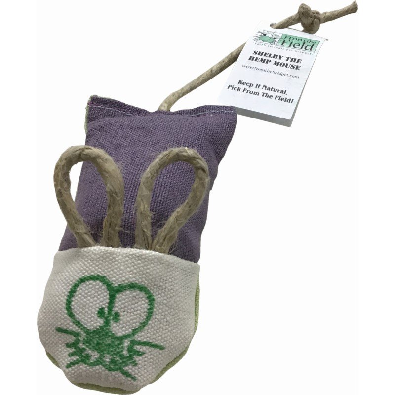 'Shelby' Refillable Silver Vine & Catnip Mouse - NEW!!!