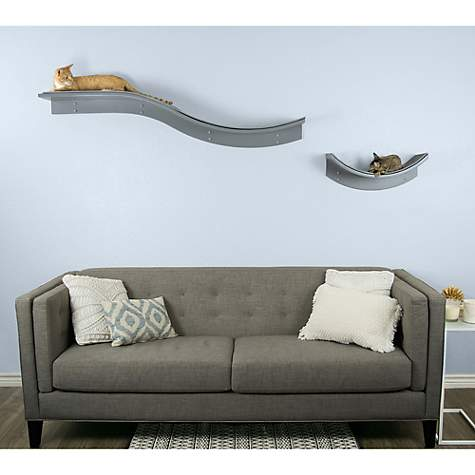 Lotus Branch Cat Shelf