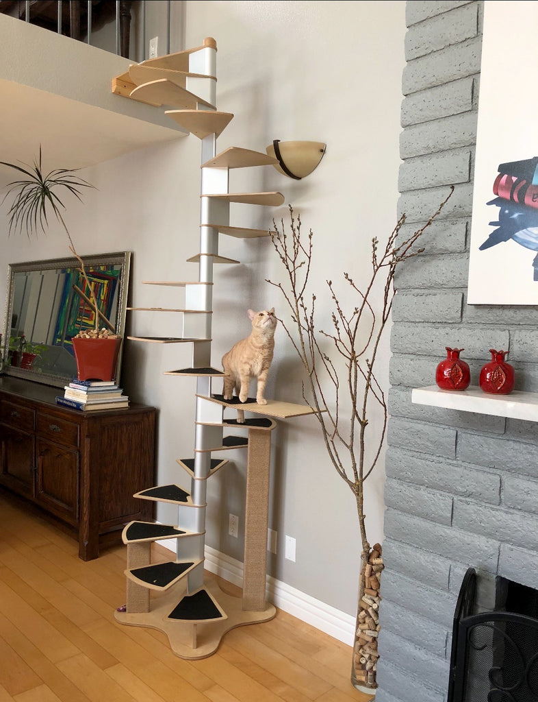 Spiral Cat Staircase Low Inventory