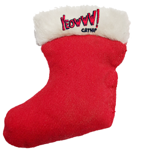 Yeowww! Holiday Stocking Toy