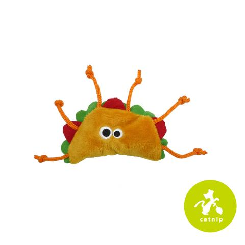 Mad Cat Tabby Taco Toy