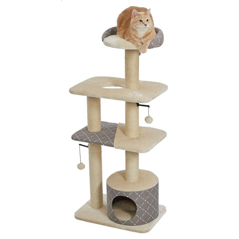 Feline Nuvo Catitude Cat Tower - Mushroom - NEW!!!
