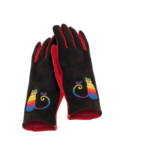 Laurel Burch™ Rainbow Cat Embroidered Glove