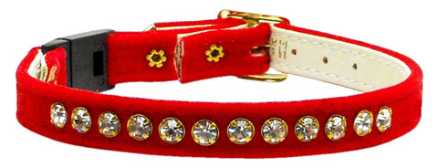 Velvet Cat Breakaway Collar - Many Colors Available -NEW!!!