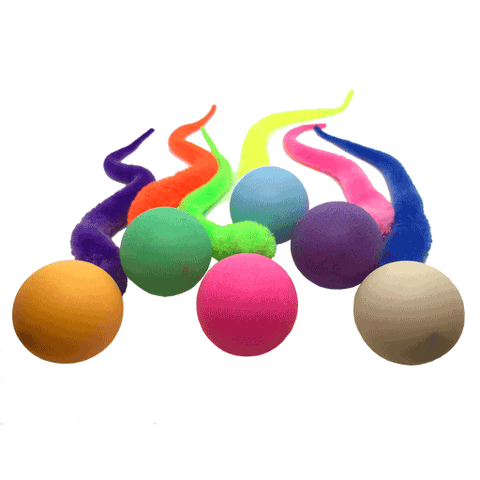 Dezi & Roo Wiggly Ping Cat Toy