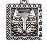 Laurel Burch™ Ziggy Cat Silver Bracelet - LOW STOCK!