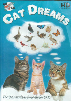 Cat Dream DVD for Cats - NEW!!!