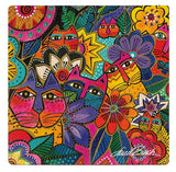 Laurel Burch™ Garden Cats Ceramic Coasters