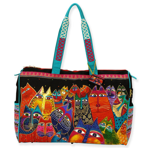 'Laurel Burch™ Fantasticats Travel Bag